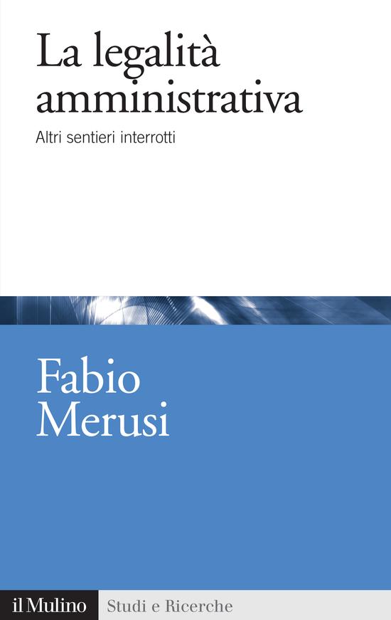Copertina del libro La legalità amministrativa