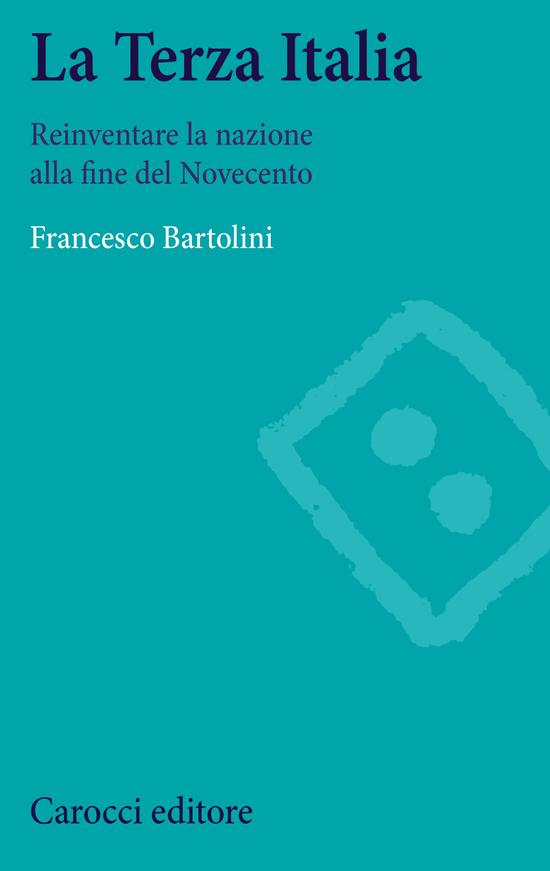 Copertina del libro La Terza Italia