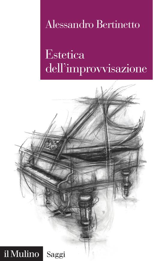 Copertina del libro Estetica dell'improvvisazione